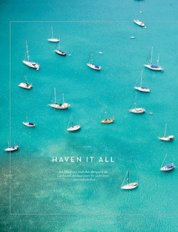 HAVEN IT ALL - Antigua Sailing Week