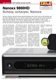 Nanoxx 9800HD - TELE-satellite International Magazine