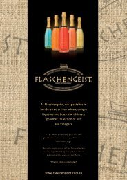 At Flaschengeist, we specialise in handcrafted artisan wines