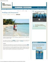 Caribbean Destination Wedding – Weddings and ... - Coco Palm