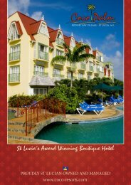 St Lucia's Award Winning Boutique Hotel - Coco Palm