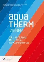Salesfolder - Aquatherm Vienna 2014