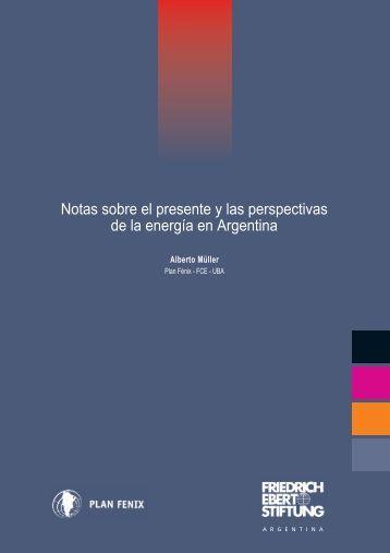 Notas sobre el presente y las perspectivas de la energía en