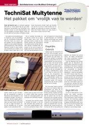 TechniSat Multytenne - TELE-satellite International Magazine