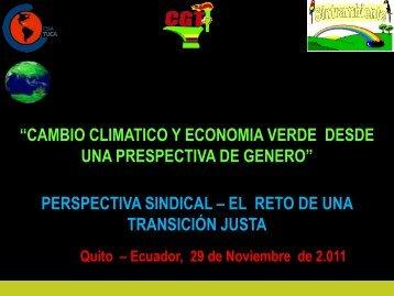 Ver: Presentación - FES Ecuador