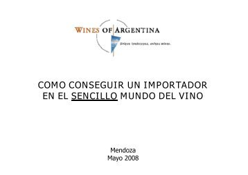 Carlos Trad - Wines Of Argentina