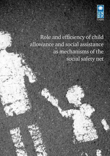 Role and efficiency of child allowance and social ... - UNDP Croatia