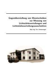 Gegenüberstellung von Messtechniken zur Messung von ...