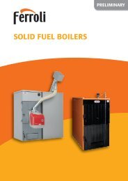 SOLID FUEL BOILERS O
