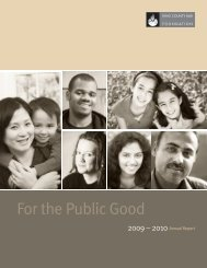 Download 2009-2010 Foundation Annual Report (PDF) - Kcbf.org