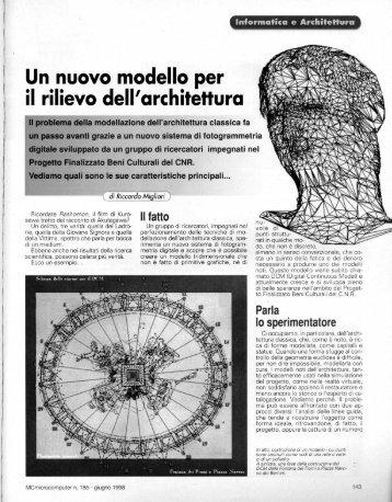 Un nuovo modello per - Riccardo Migliari