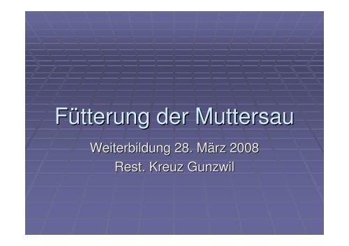Fütterung der Muttersau-1.pdf - AG für Tiergesundheit
