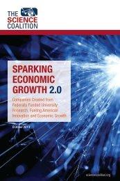Sparking Economic Growth FINAL 10-21-13