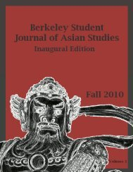 Inaugural Edition Fall 2010 - Institute of East Asian Studies, UC ...