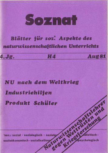 Heft 4/1981