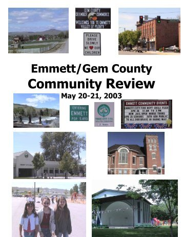 Emmett/Gem County Community Review Report Summary