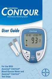 Bayer — Ascensia Contour (#61413) - Diabetic Supplies