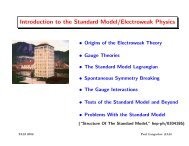 Introduction to the Standard Model/Electroweak Physics