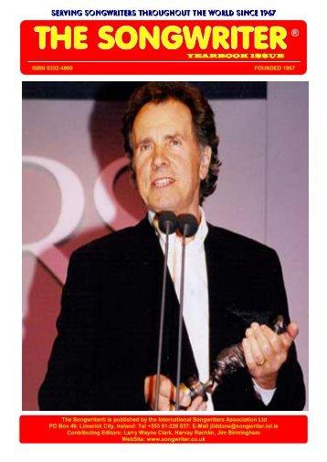 Songwriter Yearbook - International Songwriters Association