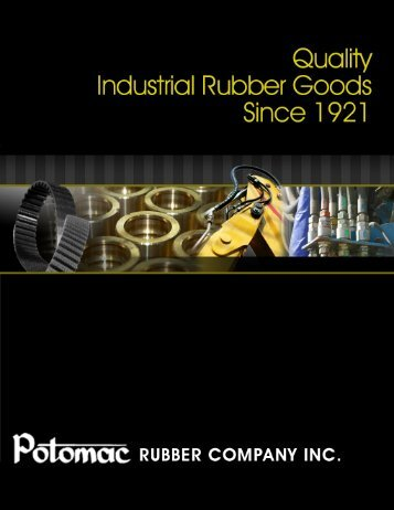 Industrial Rubber Catalog - Potomac Rubber Company, Inc.
