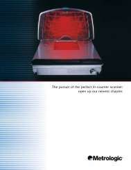 The pursuit of the perfect in-counter scanner ... - Ruoss-Kistler AG