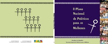 II Plano Nacional de Políticas para as Mulheres - BVS Ministério da ...