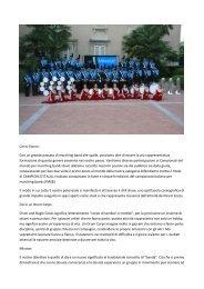 Millenium Drum & Bugle Corps di Verdello - Banda Musicale