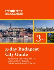 3-day Budapest City Guide - Prompt Guides