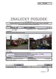 ZNALECKÝ POSUDEK 3 - Exekutorský úřad Hodonín
