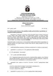 21. Par Kocēnu novada domes un tās padotības iestāžu ...