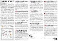 PARLEZ D ART - Connaissance de l'Art Contemporain
