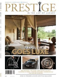 Prestige Magazine - The World