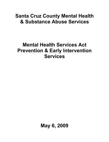Santa Cruz County - Mental Health Services Oversight and ...