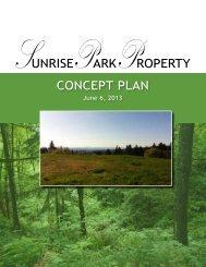 Sunrise Park Property Concept Plan - City of Tigard