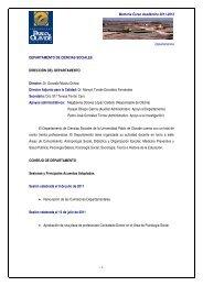 Ciencias Sociales - Universidad Pablo de Olavide