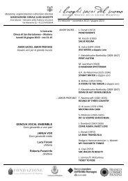 Programma Sala - 24 giugno_corr - Coro Luigi Gazzotti
