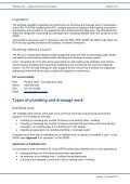 Notifiable work a guide for plumbers and drainers - Department of ... - Page 5
