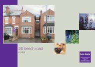 26 beech road - Lee Shaw Partnership