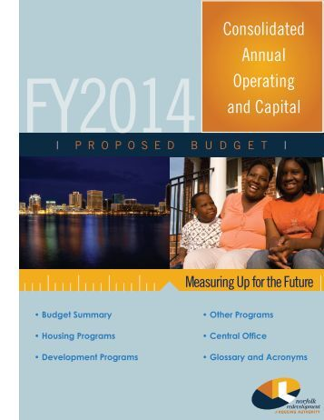 Budget Summary - Norfolk Redevelopment and Housing Authority