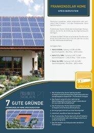 7 GUTE GRÜNDE - Sonnendeal