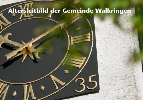 Altersleitbild der Gemeinde Walkringen