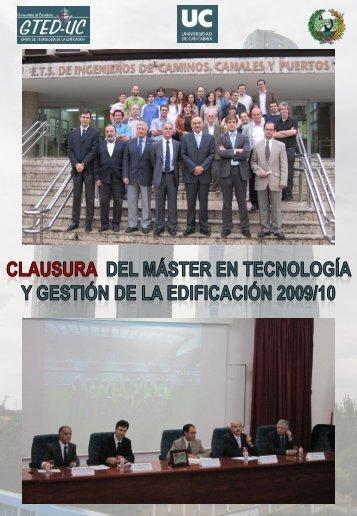 + informacion - Universidad de Cantabria