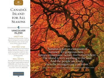 Canada's Island for All Seasons - Islands