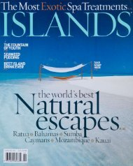 ISLANDS Magazine February 2011 - Maldives