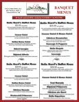 BANQUET MENUS - Your Restaurant Connection - Page 2