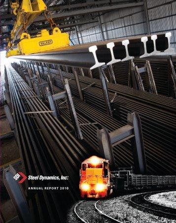 ANNUAL REPORT 2010 ANNUAL - Steel Dynamics, Inc.