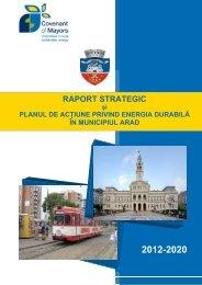 planul de acţiune privind energia - Primaria Municipiului Arad
