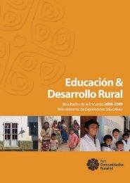 Educación y Desarrollo Rural - Cippec