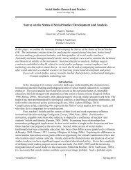 Survey on the Status of Social Studies: Development and Analysis