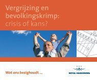 Vergrijzing en bevolkingskrimp: crisis of kans? - Royal Haskoning